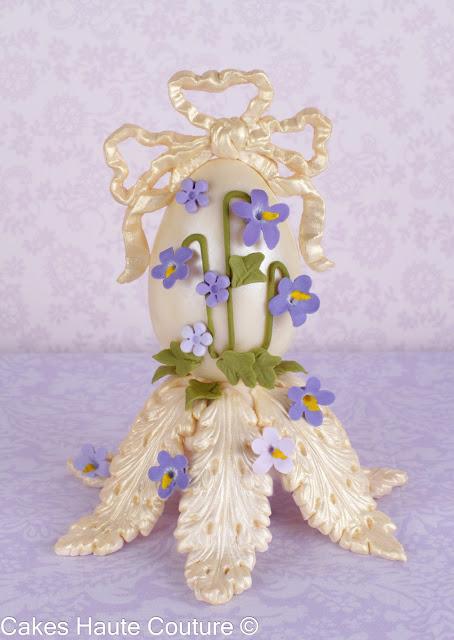 Huevos de Pascua Faberge de chocolate