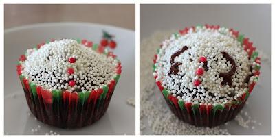 Étapes 5 & 6 Cupcake Bonhomme de Neige