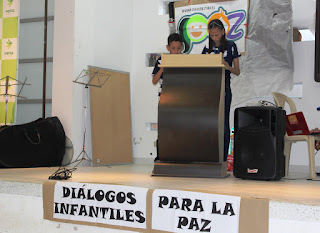 Niños de la comuna 10 en Neiva son constructores de paz