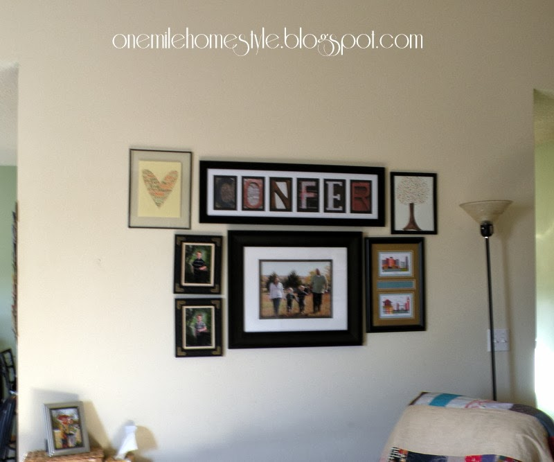 Gallery Wall - Before