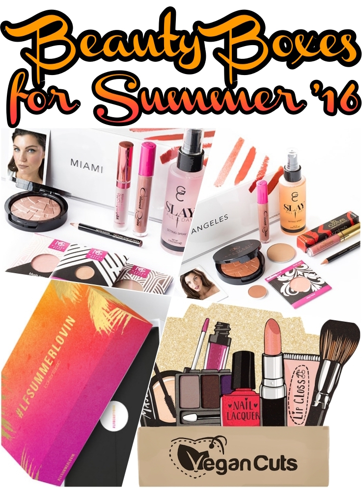 Best Beauty Box Offers for Summer 2016