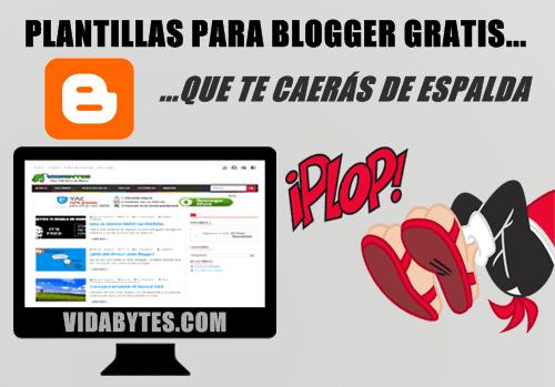 Plantillas premium blogger gratis