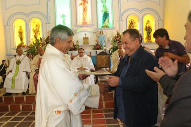 El Morro celebró 400 años de fundación de la parroquia San Jacinto