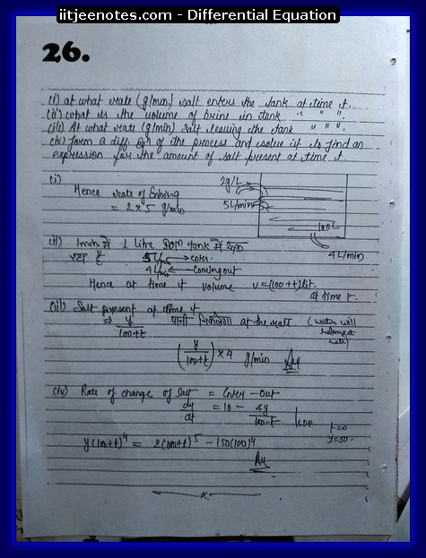 differential equation iitjee4