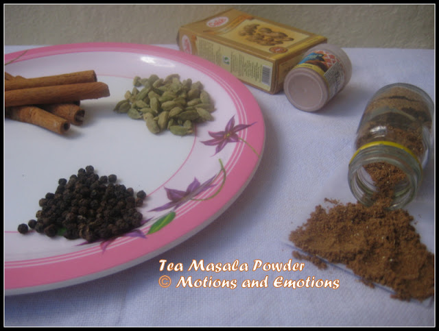 Masala Tea Powder / Chai Ka Masala / How to make Masala Tea
