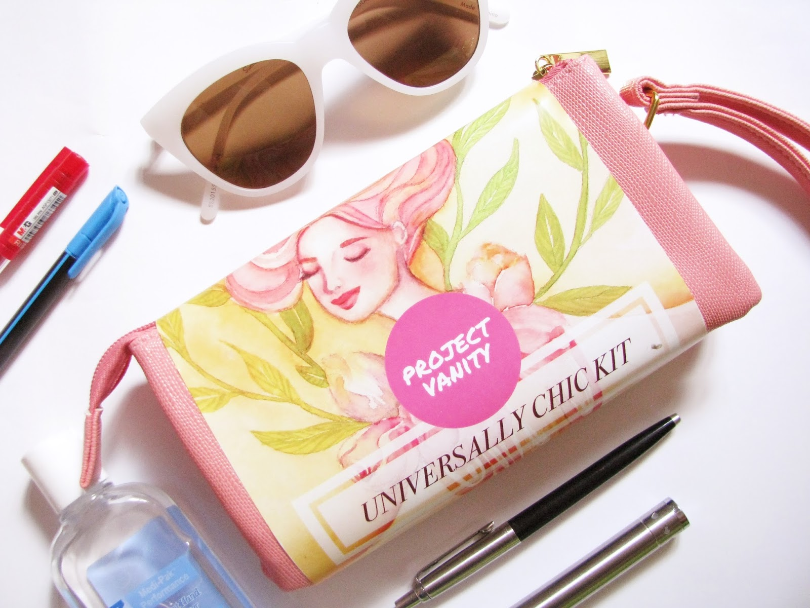 Project Vanity Kit Contents Universally Chic Kit