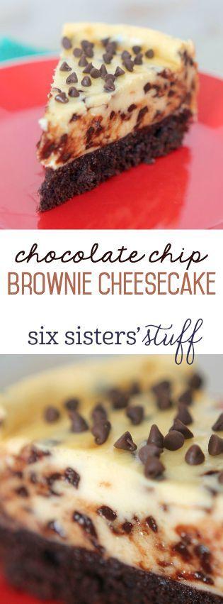 Chocolate Chip Brownie Cheesecake Recipes