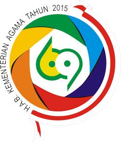 Logo Hari Amal Bhakti Kementerian Agama ke 69 tahun 2015