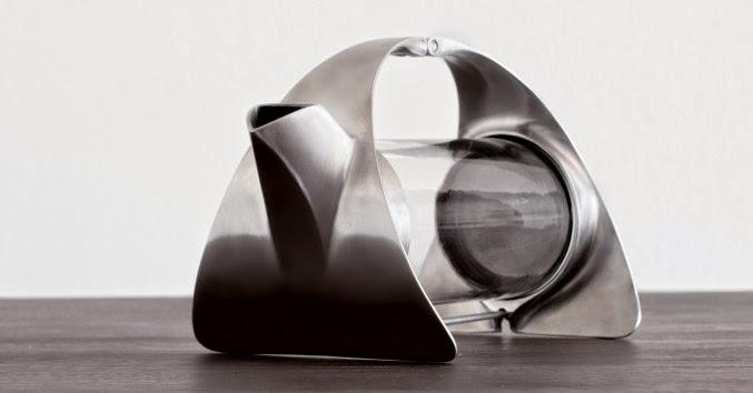 diseño en la cocina tetera minimalista y moderna