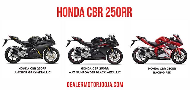 Harga Cash dan Kredit Honda CBR250RR Jogja