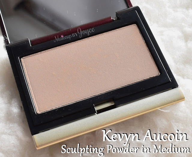 Kevyn Aucoin The Sculpting Powder in Medium Review Swatches