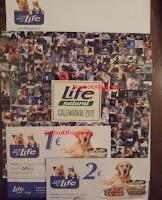 Logo Life Pet Care: in consegna calendari ''a 4 zampe'' e buoni sconto