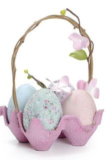 porta uova di cartone per pasqua