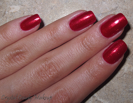 Vernis The Spy Who Loved Me d'OPI (Collection Skyfall) Swatches