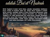 BAI'AT AQABAH KEDUA; BAI'AT NUSHRAH