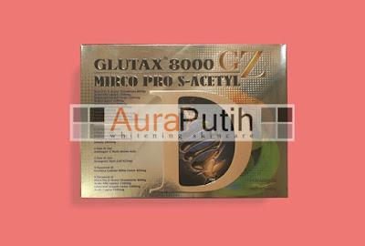 Glutax 8000 GZ Micro Pro S-Acetyl, Glutax 8000 GZ, Glutax 8000, Glutax 8000 GZ Asli original Glutax 8000 Murah, Suntik Putih Glutax 8000 GZ, Glutax 8000 GZ Whitening injection, Glutax 8000 Injeksi