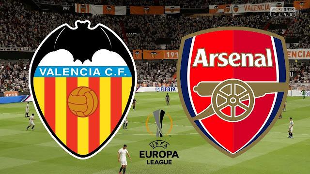 Leg Kedua Liga Europa : Valencia VS Arsenal