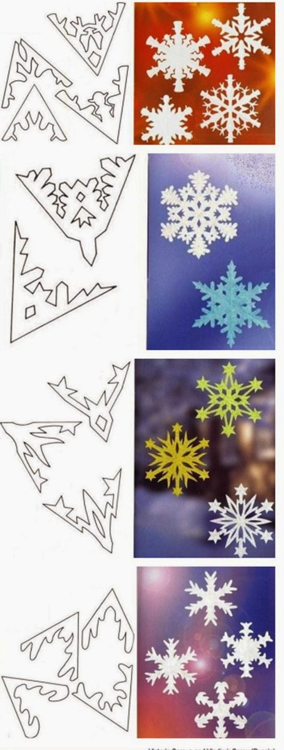 Copos De Nieve Para Decorar Fiesta Frozen.Tutorial Para Hacer Bellos Copos De Nieve De Papel Con 34