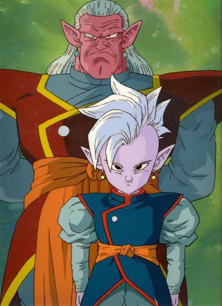 Dragon Ball Characters: Supreme Kai Dragonball Dbz Gt