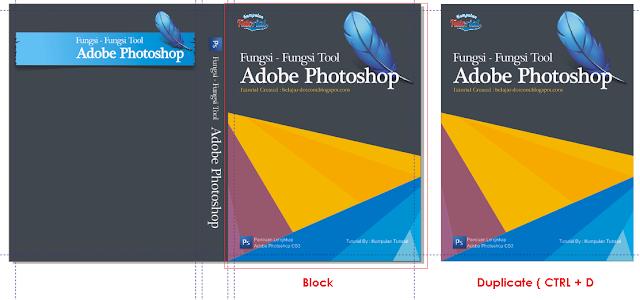 Cara Membuat Desain Cover Buku dengan CorelDRAW X4, desain buku di corel