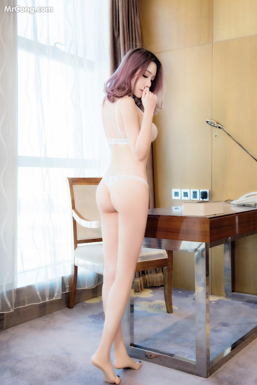 Image SLADY-2017-05-25-No.001-Ni-Xiao-Yao-MrCong.com-009 in post SLADY 2017-05-25 No.001: Người mẫu Ni Xiao Yao (妮小妖) (60 ảnh)