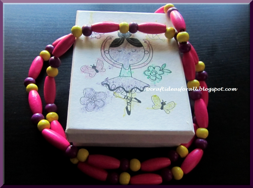 Craft Ideas For All Wooden Bead Necklace Preschool Craft