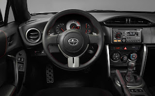 2013 Scion FR-S dashboard