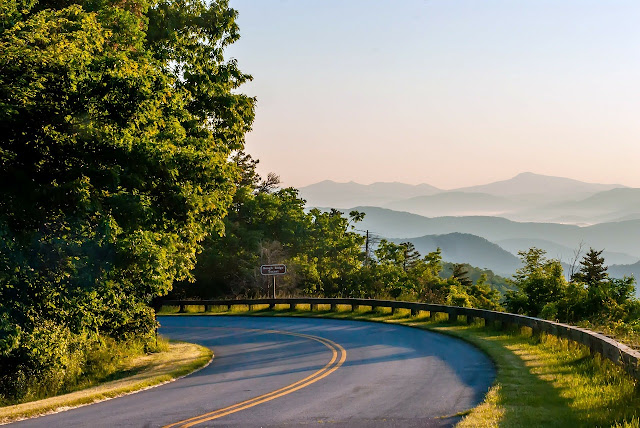Roadtrip kyst til kyst - Blue Ridge Parkway