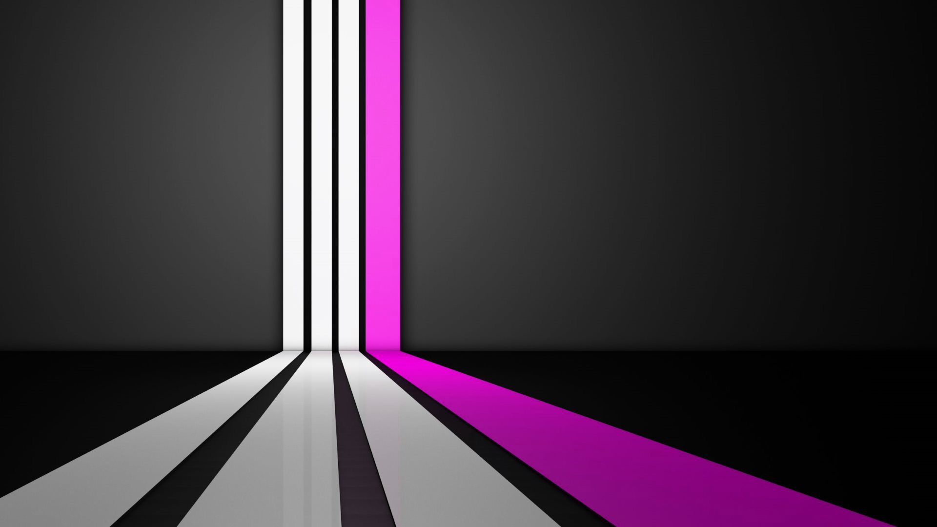 Abstract Graphic Design Purple Wavy Lines Wallpapers HD