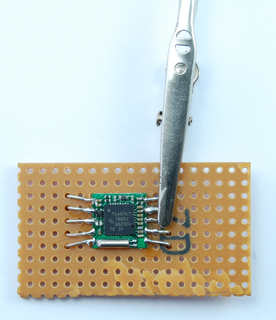TEA5767 FM Radio Breakout Board     - Dr  Monk's DIY Electronics Blog