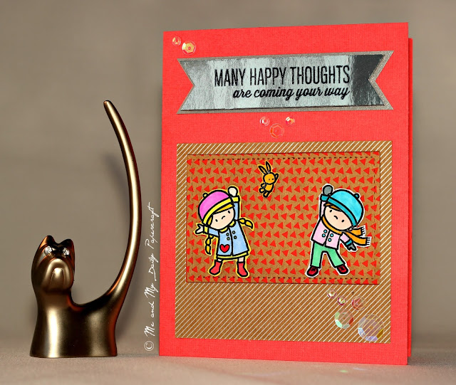 #Post211 - Me And My Daily Papercraft Blog - Handmade Card by PriCreated