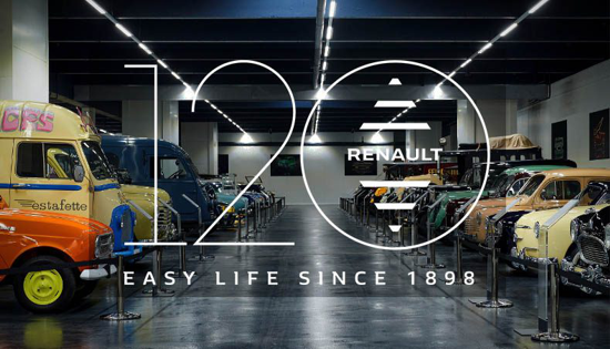 Renault 120th Anniversary