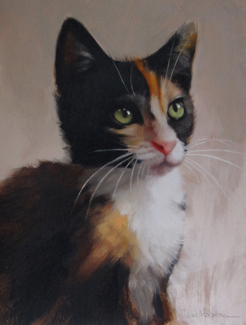 Sharon the Calico Kitten