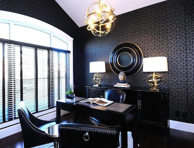 best buy elegant black executive home office desk design ideas and decorating ideas