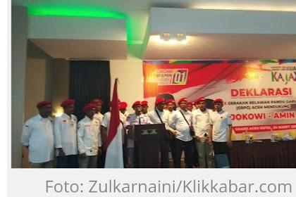 Ka Meubalek Seutio, 400 Droe Relawan Prabowo, Dukong Jokowi
