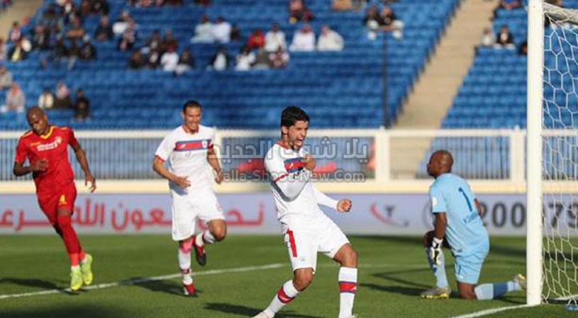 هاتريك بقير يقود أبها لتحقق الفوز على نادي ضمك في الجولة الثالثه عشر من الدوري السعودي