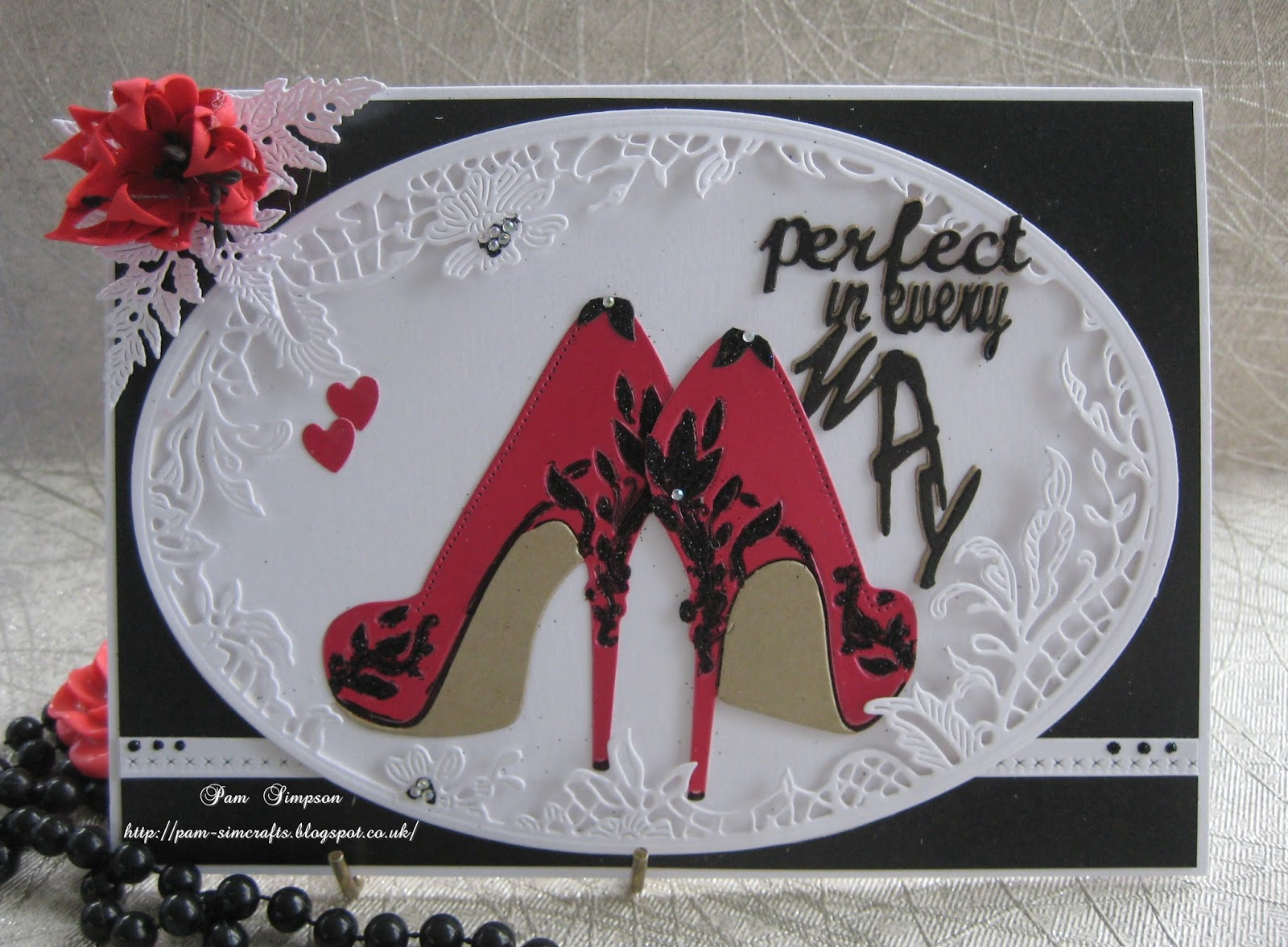 Tattered Lace Die If The Shoe Fits