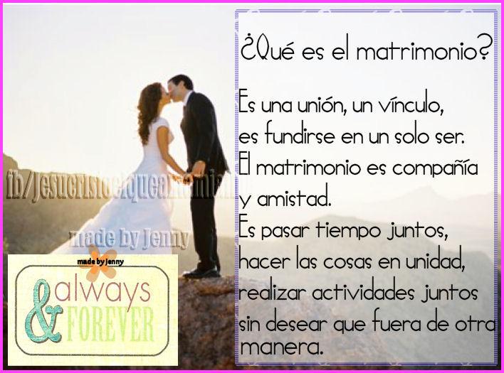 Matrimonio Q Significa : Quot que es el matrimonio † s cristianos