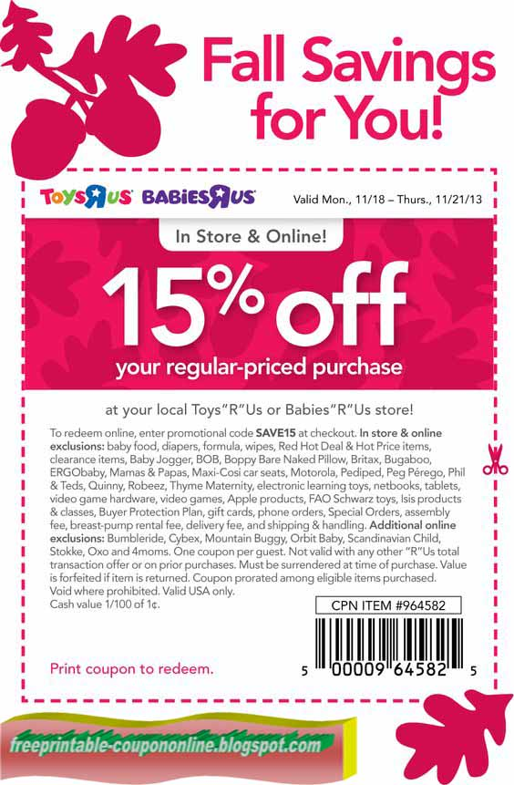 It's just a graphic of Agile Baby R Us Printable Coupons