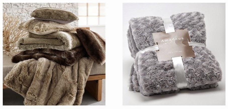 coup de coeur s verine plaids en fausse fourrure blog duo creativ. Black Bedroom Furniture Sets. Home Design Ideas