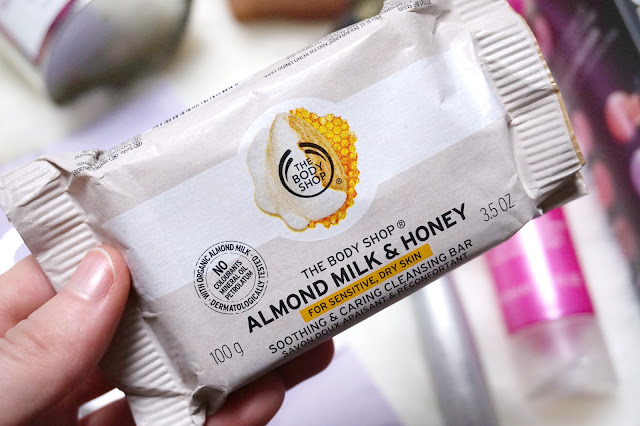 The Body Shop Almond Milk and Honey Cleansing Bar