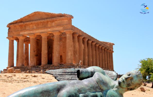 O Vale dos Templos de Agrigento