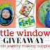 Winner of Little Windows' Giveaway for Resin Jewelry Supplies | Cut Out Design Feature