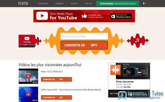 Youtube en MP3 : 12 outils en ligne (Thème 69)