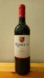 Vino tinto Romeral