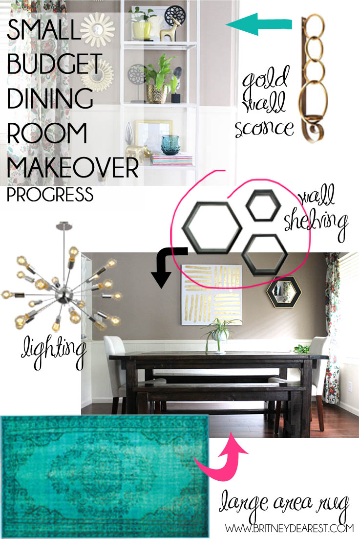 Dining Room Makeover Home Decorations Diy Budget How To