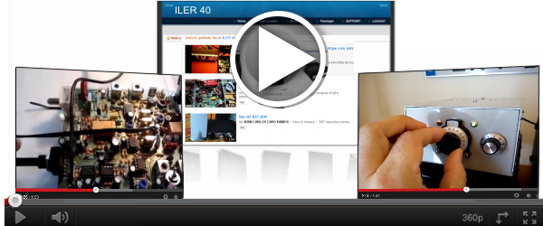 ILER QRP KIT HAM RADIO TRANSCEIVER SSB CW VIDEO EA3GCY VXO TRX QRZ QSL