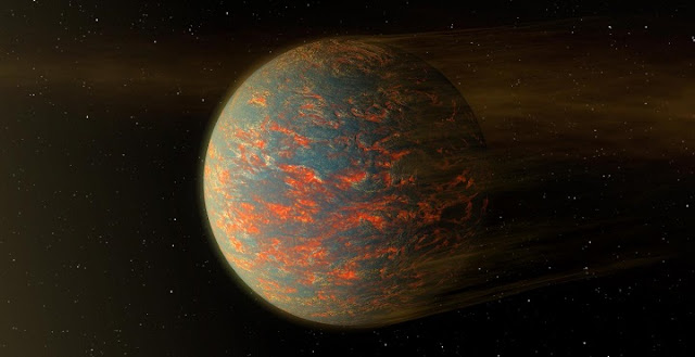 Artists' illustration of 55 Cancri e. Credit: NASA/JPL-Caltech