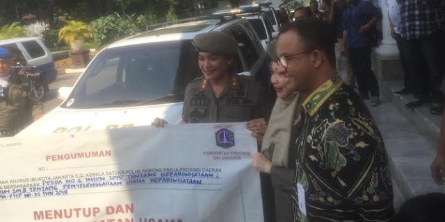 Anies Persilakan Eks Pekerja Alexis Ikut OK OCE