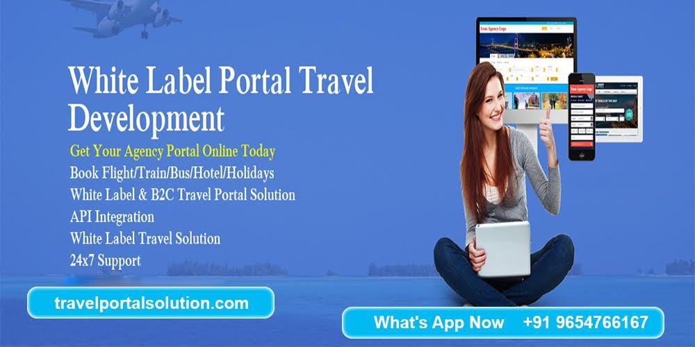 White Label Travel Websites: White Label Travel Portal Solution